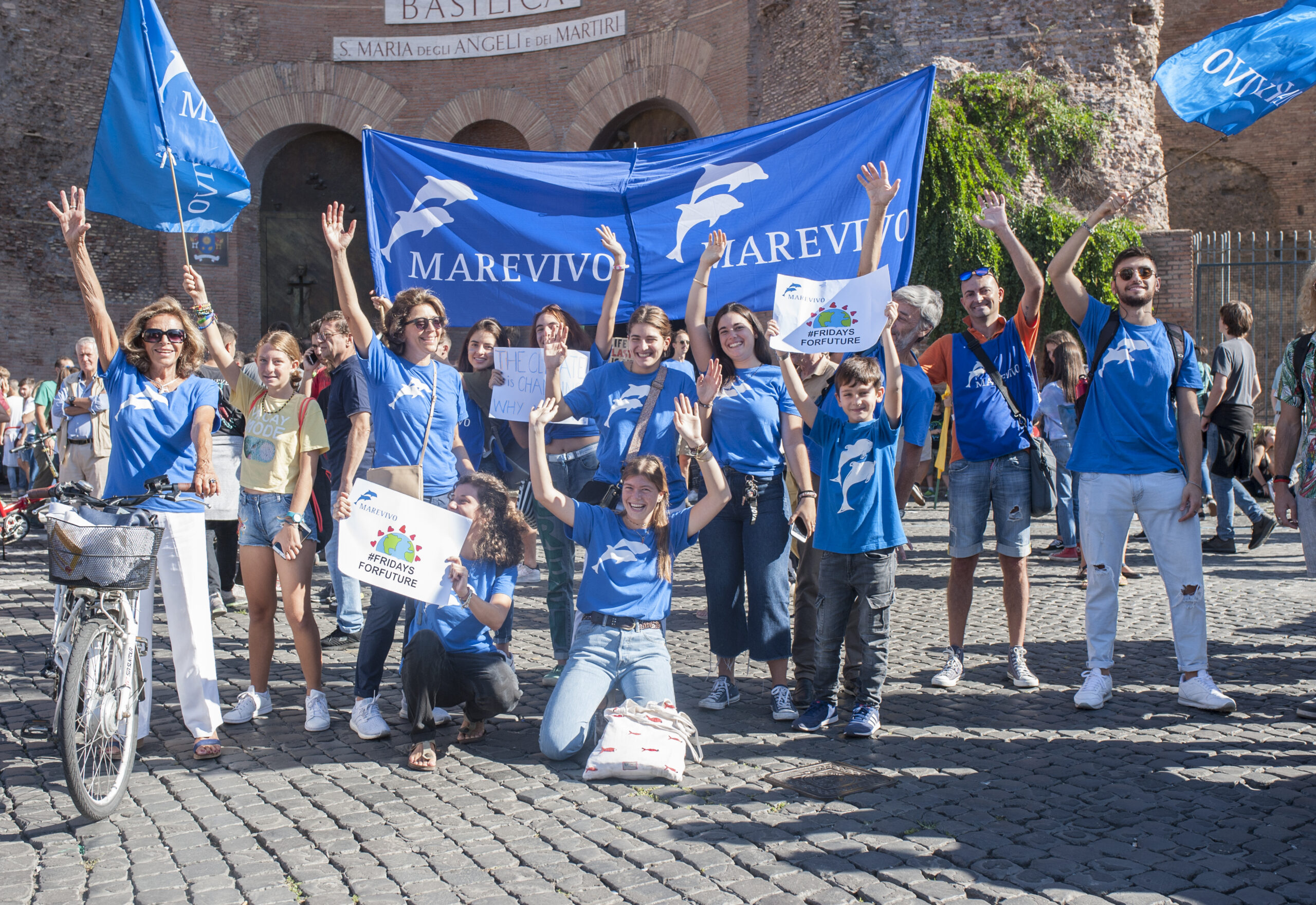 Marevivo per Fridays For Future