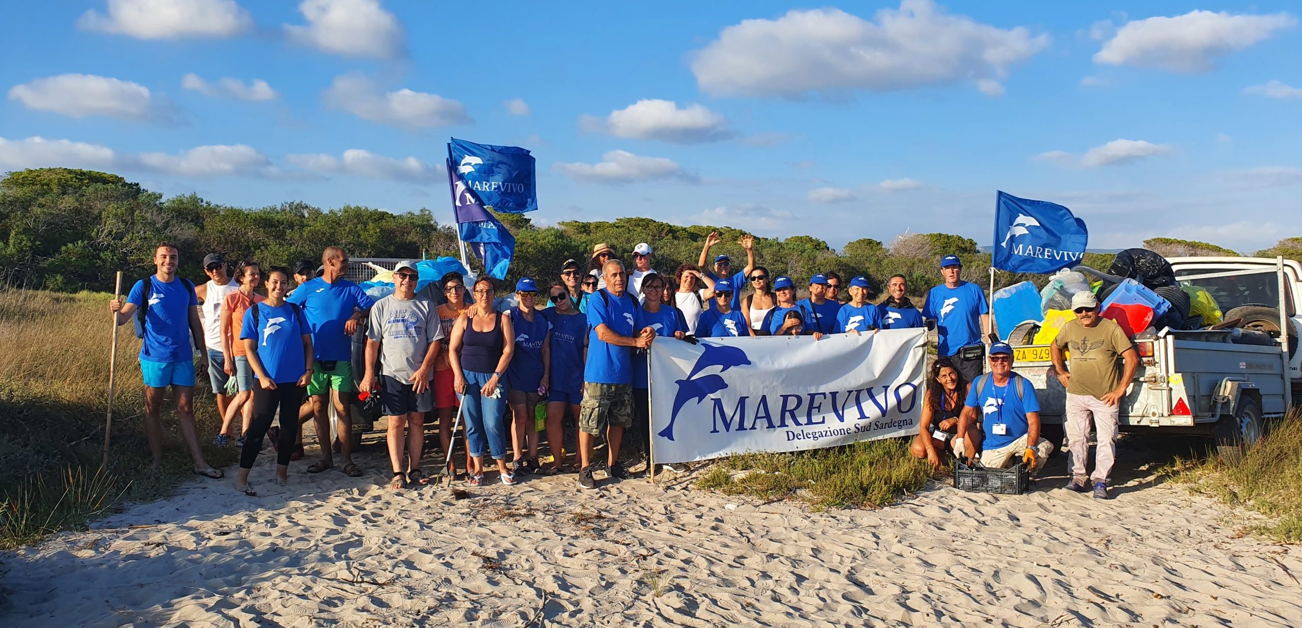 Marevivo per l'International Coastal Cleanup