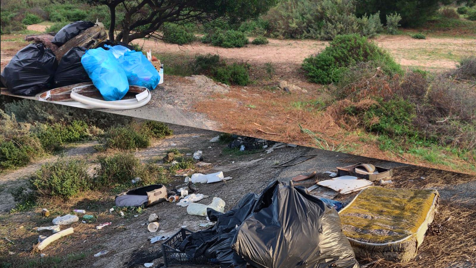 Volontari di Marevivo ripuliscono una spiaggia. Due settimane dopo è di nuovo una discarica