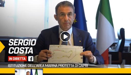 Vittoria! Il Ministro dell'Ambiente ha firmato per l'istituzione dell'Area Marina Protetta di Capri