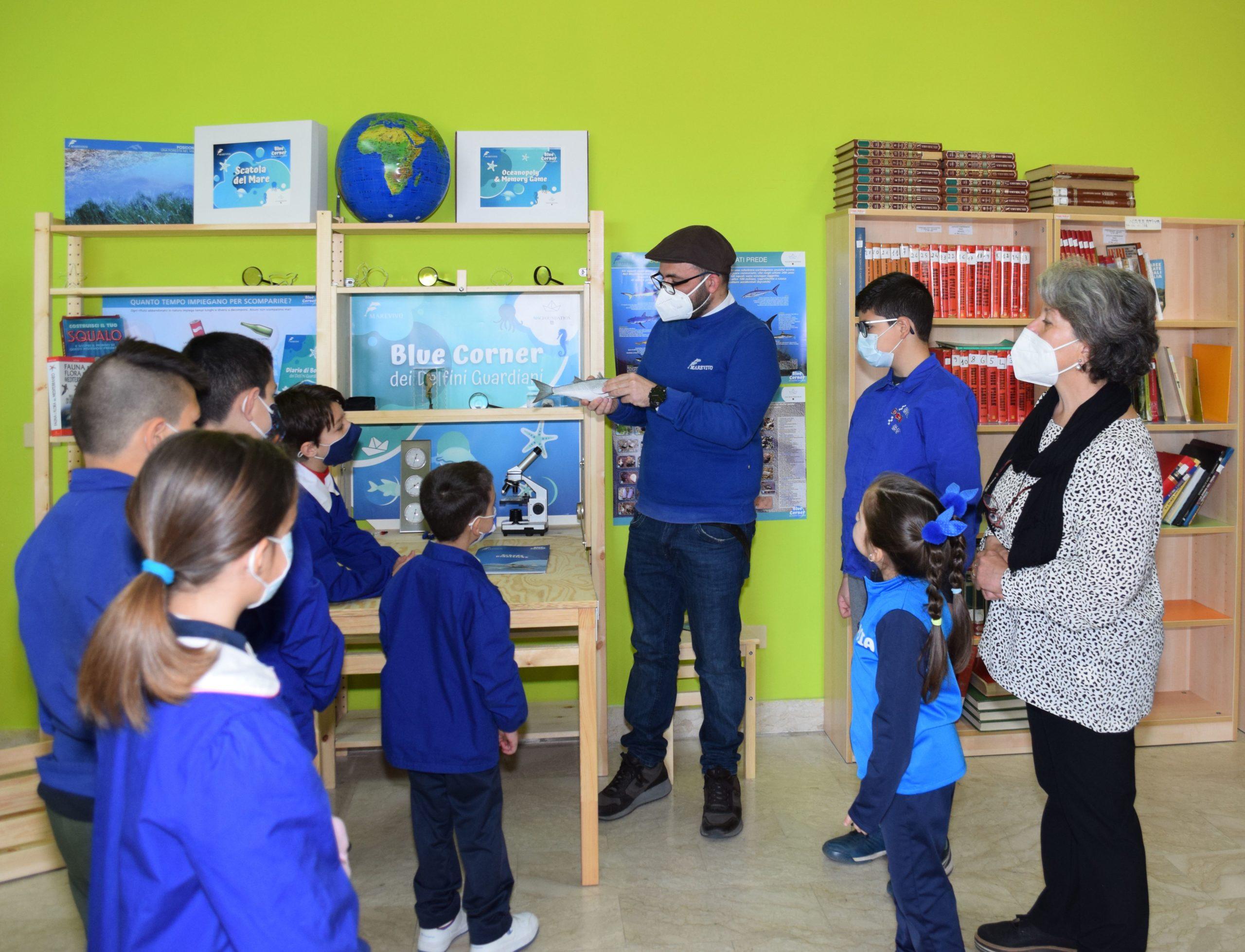 """Piccoli naturalisti crescono. In arrivo nelle scuole il """"Blue Corner dei Delfini Guardiani"""""""