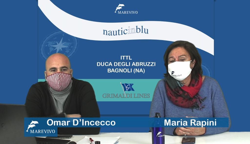 """Il progetto """"Nauticinblu"""" di Marevivo in Campania"""