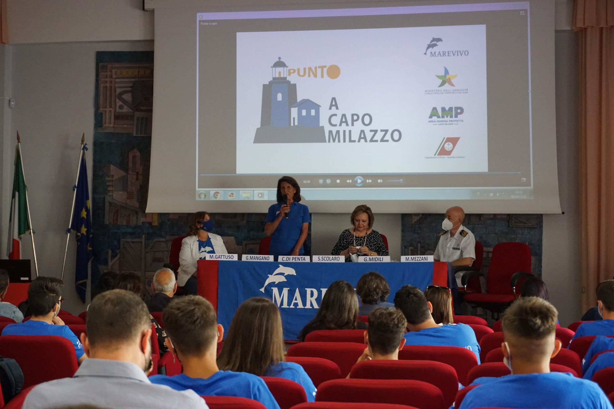 Punto… a Capo Milazzo, combattiamo l'inquinamento con l'educazione ambientale
