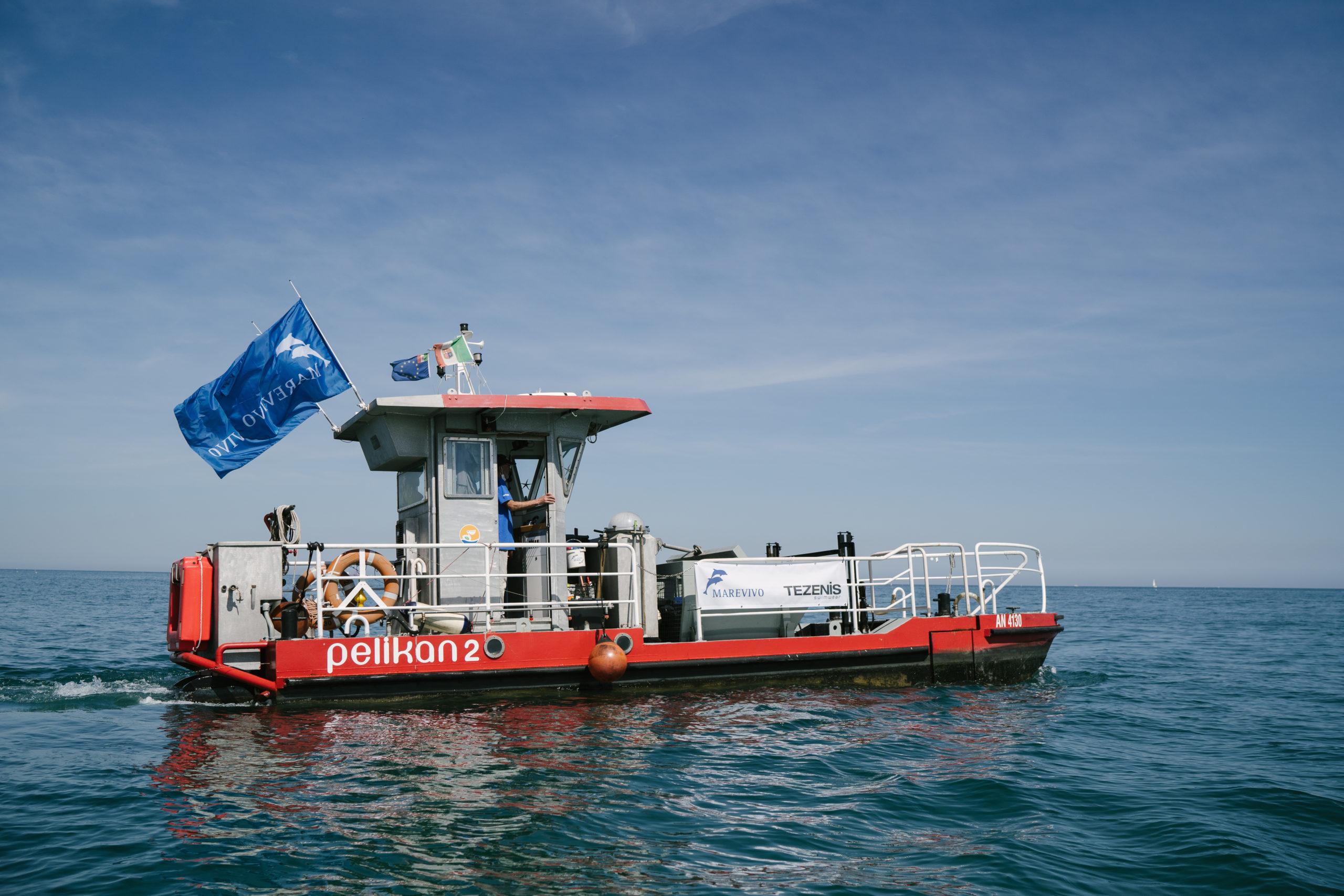 Recuperiamo dal mare 10 mila chili di plastica e li riusiamo per produrre energia