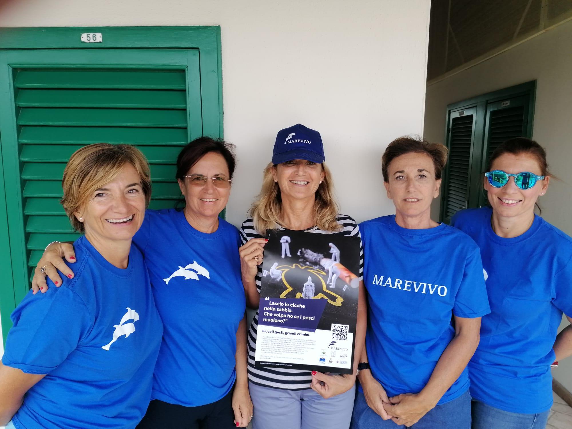 """""""Piccoli gesti, grandi crimini"""": Viareggio aderisce alla campagna di sensibilizzazione contro l'abbandono dei mozziconi nell'ambiente"""